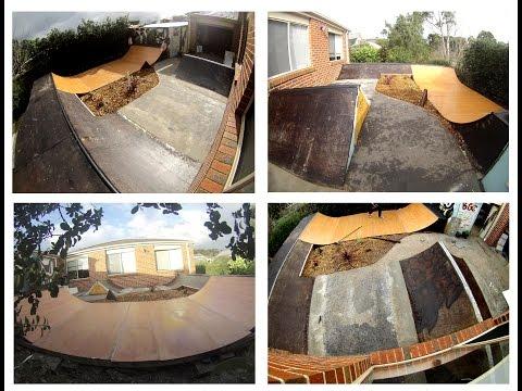 Skateboard Mini Ramp Timelapse