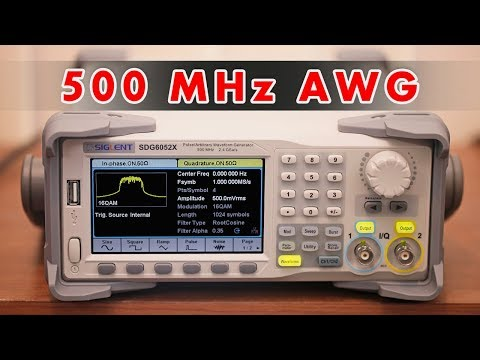 Siglent SDG6000X Arbitrary Waveform Generator Review