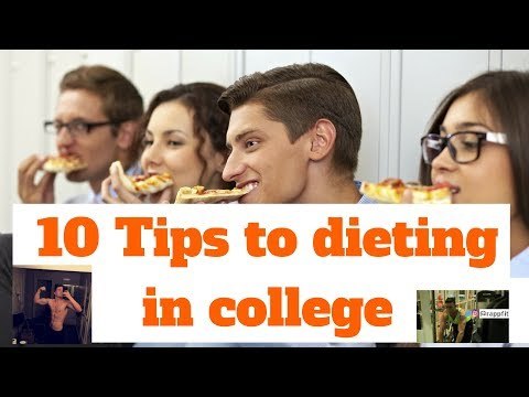 10 Greatest tips on how to diet in college