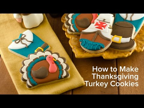 How to Make Thanksgiving Turkey Cookies