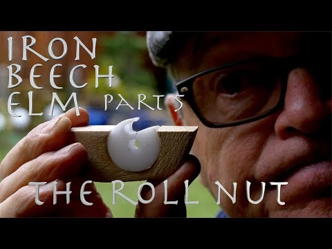 IRON BEECH ELM Can I build a crossbow from scrap? The Roll Nut.  Pt 5