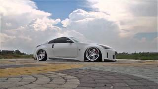 bagged nissan fairlady 350z