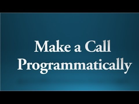 Android tutorial for beginners - 87 - How to make a phone call programmatically