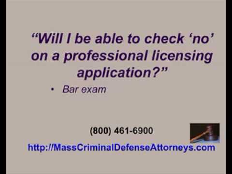 Massachusetts Expungement Seal Criminal Record
