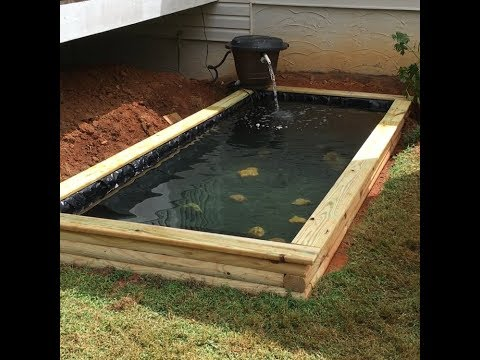 DIY Raised pond