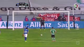 Golo de Yebda (GP): Belenenses (1)-0 Sporting (Liga 30ªJ)