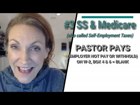 6 Tips: How to Pay Your Pastor/Minister & How to Report Your Clergy Income