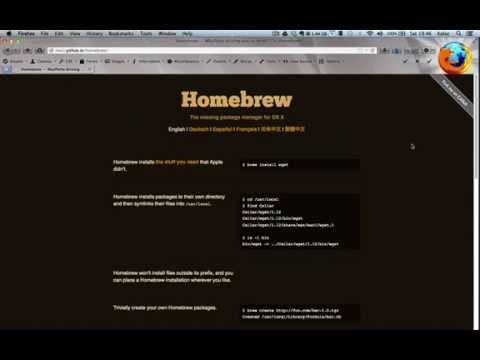 Installing MongoDB on Mac OS X with Homebrew