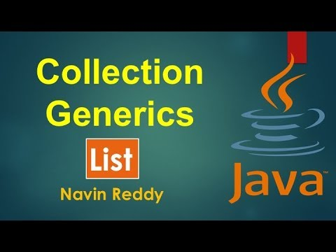 #11.2 Collection and Generics | List Interface