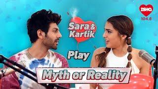 Sara Ali Khan and Kartik Aaryan reveal the truth | Ishq Myth Busters