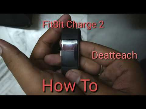 How To Remove Fitbit Charge 2 Strap/Band