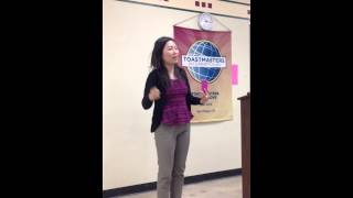 Sally Kim Toastmasters Cc Speech 3 When Coffee Meets Bagel