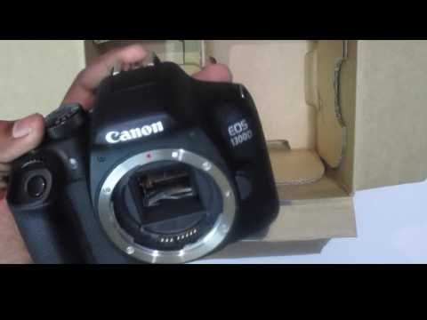 Canon EOS 1300D DLSR Unboxing 1st look