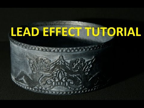 How To Make A Fake Aged Lead/Pewter Effect