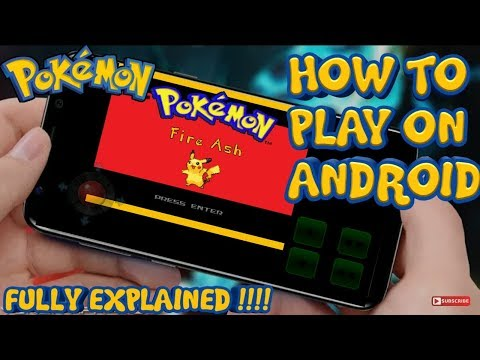 Pokemon Fire Ash For Android||How You MAY Play Pokemon Fire Ash On Android||Fully Explained||