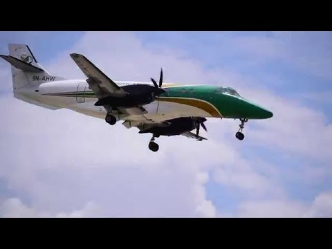 LANDING AT BHARATPUR AIRPORT II CHITWAN, NEPAL II JETSTREAM 41 II YETI AIRLINES