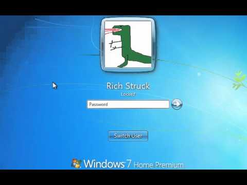 Windows 7 - Locking your computer