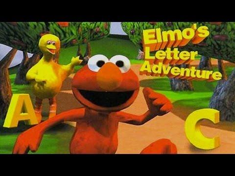 Sesame Street Elmo's PlayStation Journey Adventure Compilation