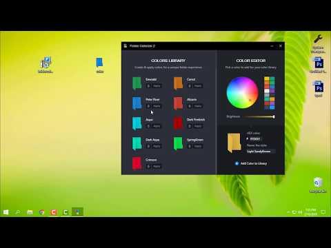 How to change folder color on Windows 10 |Folder colorize 2