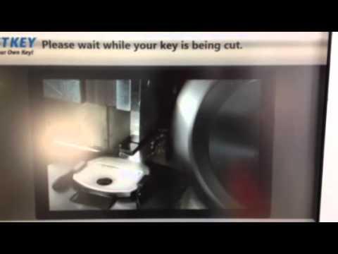 making a key at walmart