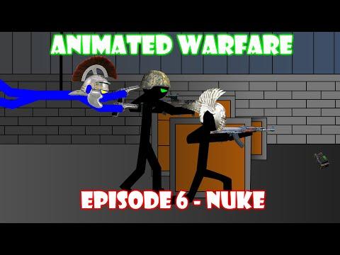 Animated Stickfigure Warfare - Episode 6 - Nuke