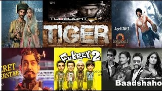 Bollywood upcoming movies 2017, Aamir Khan, Salman Khan, Shahrukh Khan, Akshay Kumar