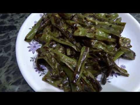 Instant Green Chilli Pickle - Instant Mirchi Achar Recipe (हरी मिर्च का आचार)