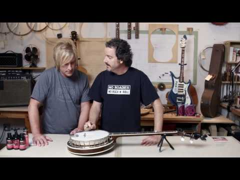 D'Addario Core: How to Change Strings on a Banjo