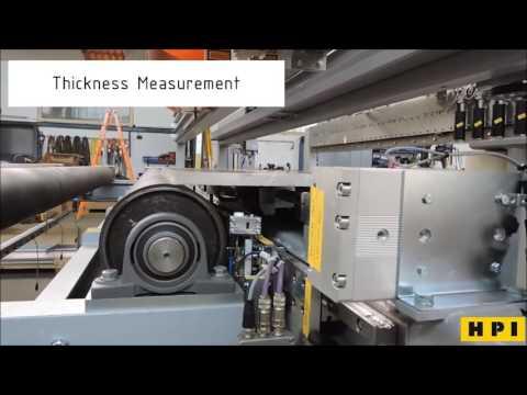 Conductivity Measurement of Aluminum Plates with HPI