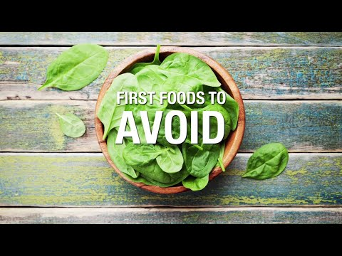 First Foods to Avoid
