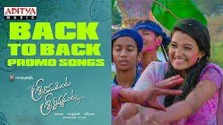 Sriramudinta Srikrishnudanta | Back to Back Song Promos | Shekar Varma, Deepthi Setty