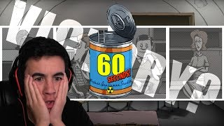 Can I Survive the Nuke?? (60 Seconds Game)