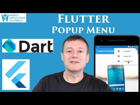 Flutter popup menu tutorial