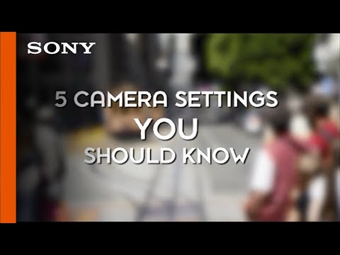 5 Camera Settings Everyone Should Know