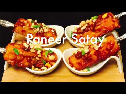 The Bakasura: How To Make Restaurant Style Paneer Satay  Paneer Tikka Manchurian recipe   Bakasura