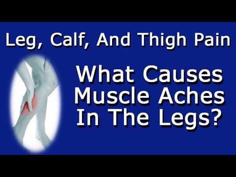 Leg, Calf, and Thigh Pain   What Causes Muscle Aches In Legs?