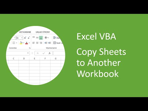 Excel VBA - How to Copy Sheets to Another Workbook
