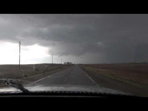 Tornado Warned Cell SW Iowa April 13 2018
