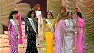 Miss Venezuela 1987 - Crowning Moment