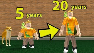 GROWING UP SIMULATOR IN ROBLOX