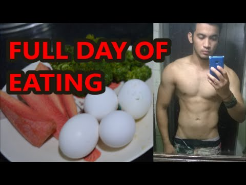 FULL DAY OF EATING (CUTTING DIET) | INDIAN BODYBUILDING MEAL | FIT INDIA