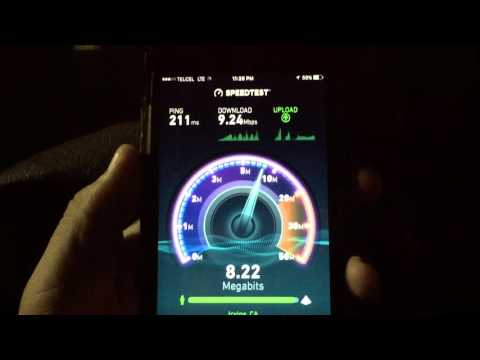T-Mobile Mobile Without Borders Mexico Speedtest