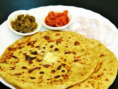 आलु पराठा    Aloo Paratha Recipe   Dhaba Style Punjabi Aloo Paratha   Potato Stuffed Paratha