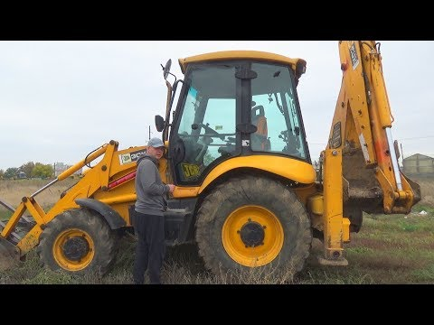 The Tractor broken down Funny Dima Ride on POWER WHEEL Plane to help man