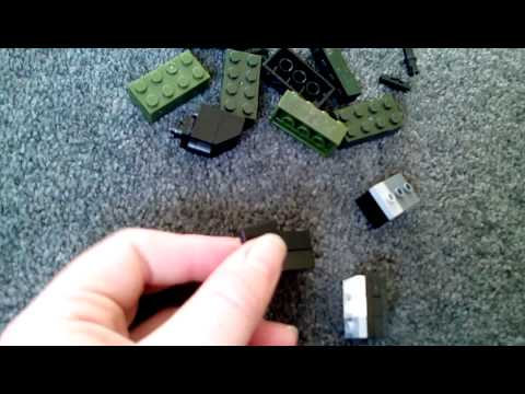 Lego combat knife tutorial ( first video )