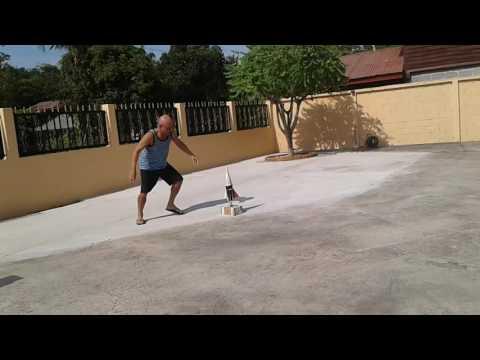Soda Bottle Rocket Experiment