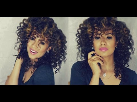 How To Get Flawless Spiral Curls With Curling Wand/Curling Iron 2015