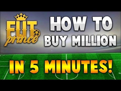 OMFG!! HOW TO BUY MILLIONS OF COINS IN 5 MINUTES! - FIFA 15 Ultimate Team Best Coins!!