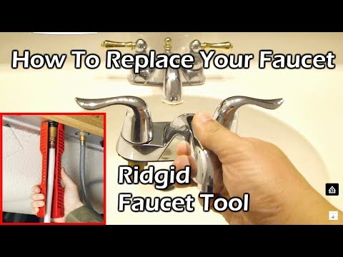 How To Replace Your Faucet