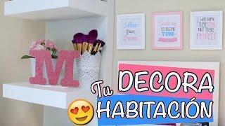 Trucos Para Decorar Tu Habitacion Videos Ytubetv - Manualidades-para-tu-habitacion